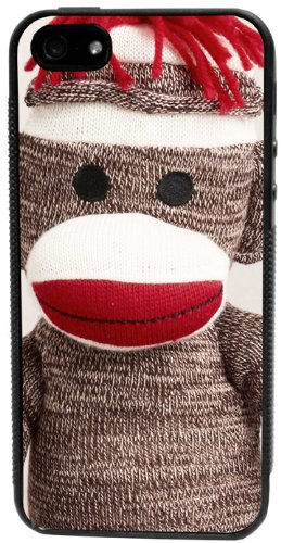 CellPowerCasesTM Sock Monkey iPhone 5 Case - Fits iPhone 5