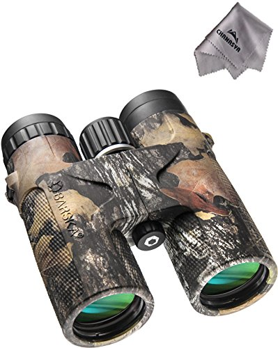 12X42 Wp Blackhawk Mossy Oak¨ Break-Up¨ Binoculars Ab11848 With Chanasya Polish Cloth Bundle