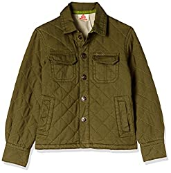 UFO Boys' Shirt (AW16-WF-BKT-256_Ceder Green_14 - 15 years)
