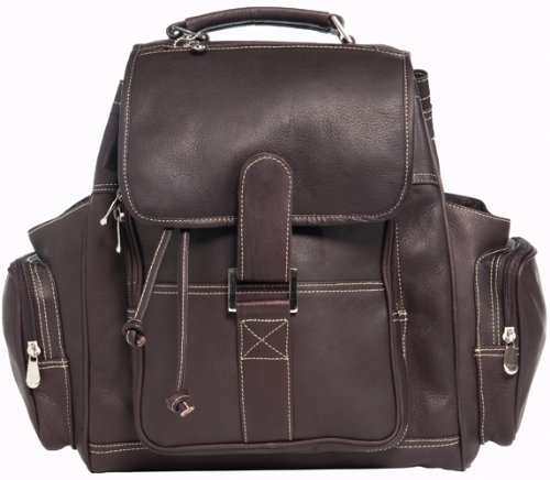 David King & Co. Deluxe Top Handle Extra Large Backpack, Cafe, One Size