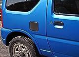 【給油口カバー】スズキ(SUZUKi)ジムニーJB23W専用 カーボン製フューエルリッドカバー