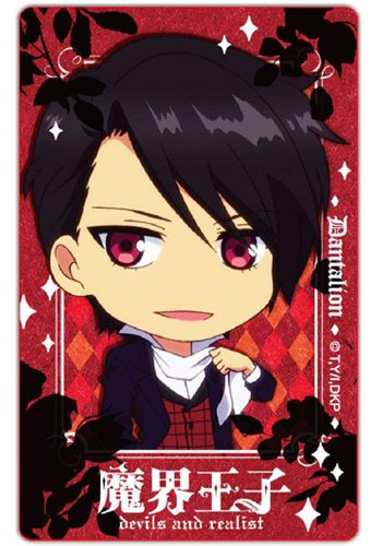 Licensed Devils And Realist Card Sticker Dantalion