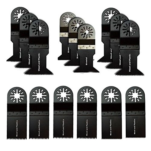 Oscillating Multitool Saw Blade Variety Pack For Use On Fein Bosch