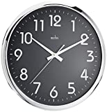 CK1283 ORION BLK WALL CLOCK
