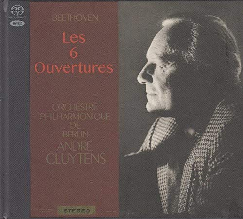 SACD : BEETHOVEN / CLUYTENS,ANDRE - Beethoven: 6 Overtures