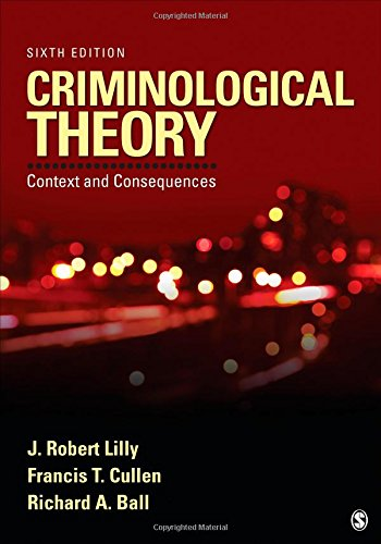 Criminological Theory: Context and Consequences PDF