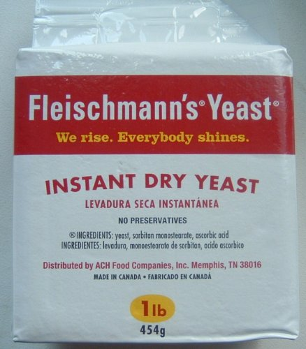Yeast, Fleischmann's, 10 lbs (pounds) Dry, Instant (no proofing needed!) Fast Acting; Fast Rising, Vacuumed Sealed, Packed By Mulberry Lane Farm, FAST SHIP!