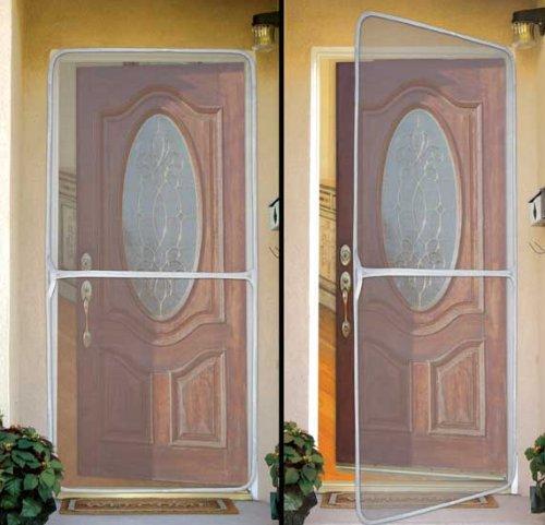 Building a screen door from scratch offs