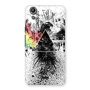 Prism Eagle Multicolor Back Case Cover for Micromax Canvas Selfie Lens Q345