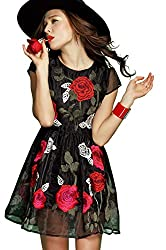 Rozdeal New Designer Latest Black Colour Semi Stitched Western Wear
