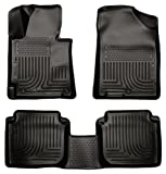 Husky Liners Custom Fit WeatherBeater Molded Front and Second Seat Floor Liner for Select Hyundai Elantra Models (Black)