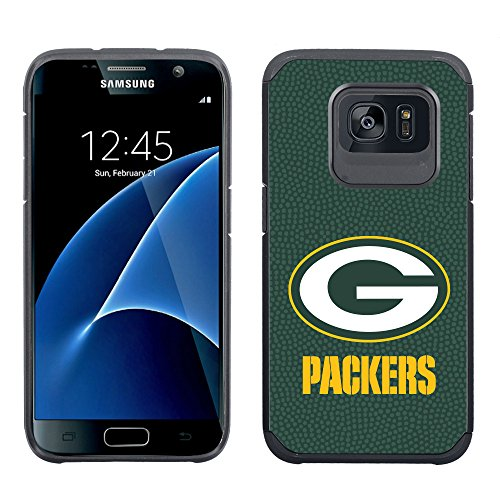 NFL Green Bay Packers Football Pebble Grain Feel Samsung Galaxy S7 Case, Team Color by GAMEWEAR