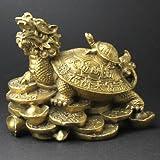 銅製 4号 龍亀