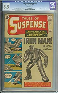 Tales Of Suspense #39 Cgc 8.5 Ow Pages // Origin/1st Appearance Of Iron Man