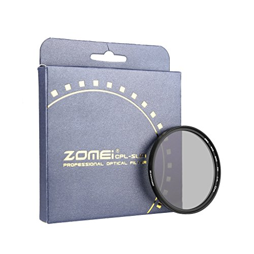 ZOMEi Ultra Slim AGC Optical Glass PRO CPL Circular Polarizing Polarizer Lens Filter - 52mm (Polarized Filter 52mm compare prices)