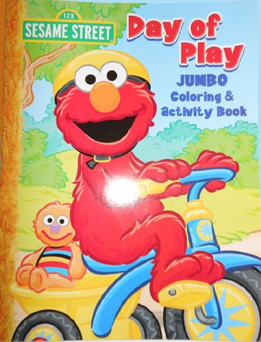 Sesame Street Elmo Jumbo Coloring Book - Day of Play