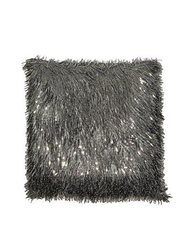 Aviva Stanoff Matchstick Pillow, Silver