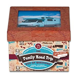 Click to buy Family Road Trip Box of Questions from Amazon!