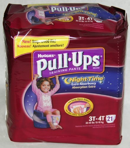 Huggies Pull-Ups Night Time Training Pants, Size