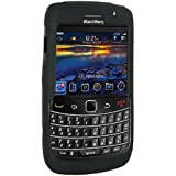 Amzer Silicone Skin Jelly Case for Blackberry Bold 9700 Onyx Bold2 - Black