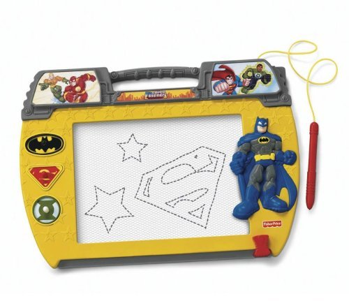 Doodle Pro Classic Is The Magnetic Drawing Toy That Best Delivers On Durability And Drawing Area - Fisher-Price Doodle Pro Superfriends