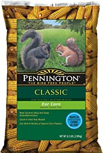 Pennington Seed Ear Corn on Cob Squirrel Food, 6.5-Pound (Discontinued by Manufacturer)
