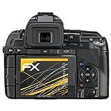 """atFoliX Schutzfolie Olympus E-5 - 3er Set - FX-Antireflex blendfreivon """"Displayschutz@FoliX"""""""