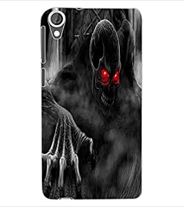 ColourCraft Scary Image Design Back Case Cover for HTC DESIRE 820