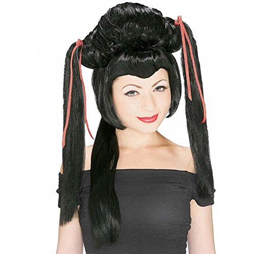 Rubie's Costume Japanese Girl Wig, Black, One Size ()