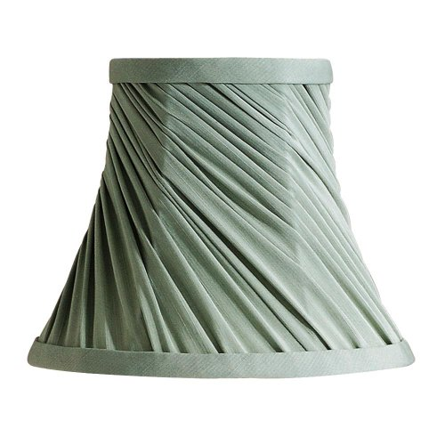 Laura Ashley SLC207 Chelsea 7-Inch Bell Clip Shade, Sage