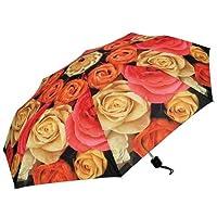 Harold Feinstein Multi Rose Umbrella Collapsible