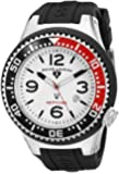 Swiss Legend Men's 21818P-02-RB Neptune Collection Black Textured Rubber Watch