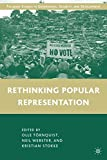 img - for Rethinking Popular Representation (Governance, Security and Development) book / textbook / text book
