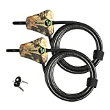 Master Lock - Python Trail Camera Adjustable Camouflage Cable Locks 8418KA-2 CAMO - KEYING MAY VARY