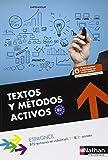 echange, troc Alfredo Segura - Textos y Métodos Activos - BTS 1re et 2e années