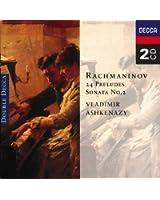 Rachmaninov: 24 Preludes; Piano Sonata No. 2 (2 CDs)