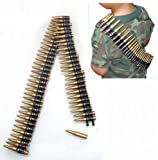 Military Bullet Belt : Plastic Toy Ammo Bandoleer Army Costume Accessory