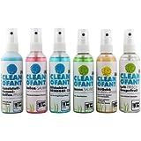 CLEANOFANT Kennenlern-SET mit 6 Produkten: Außen-SAUBER, UniQuick SAUBER+PFLEGE, Kunststoff-Gummi-Reifen-PFLEGE, Innen-SAUBER, Bildschirm-REINIGER Gel und Luft-FRISCH Grapefruit - Außenreiniger, Innenreiniger, Kunststoffpflege, Gummipflege, Reifenpflege, Versiegelung, Reinigen ohne Wasser, Bildschirmreiniger. Reinigung für Wohnwagen, Wohnmobil, Caravan, Reisemobil, Zubehör, Vorzelt, Camping, Campingzubehör --- Wohnwagenreiniger, Wohnmobilreiniger, Wohnwagenreinigung, Wohnwagenpflege, Wohnmobilreinigung, Wohnmobilpflege