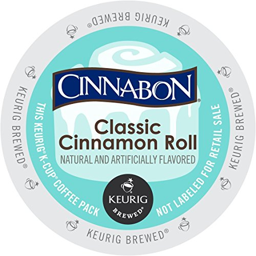 Cinnabon K-Cup Portion Pack for Keurig Brewers, Classic Cinnamon Roll, 24 Count (Roast N Roll compare prices)