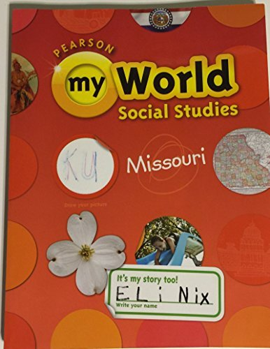 My World Social Studies-Missouri - 1