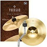 Sabian NP1005BSP 10-Inch Paragon Splash with Stacker Brilliant Cymbal
