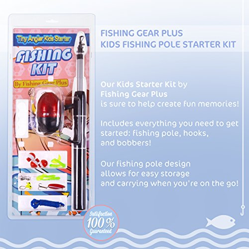 New fishing gear plus for kids telescopic fishing pole set for Kids fishing kit