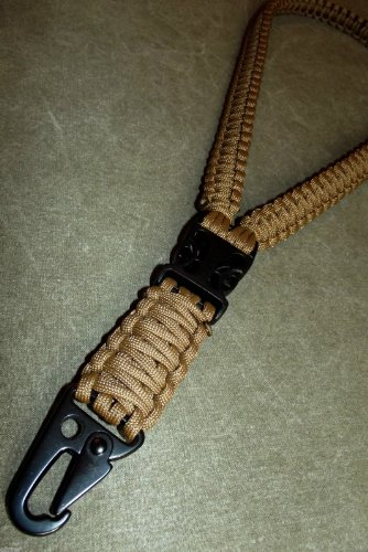 Sahara Paracord Lanyard Extreme With Hk Style Clip