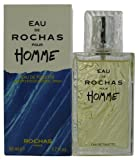 Rochas Eau De Rochas Homme Eau de Toilette Spray for Him 50 ml
