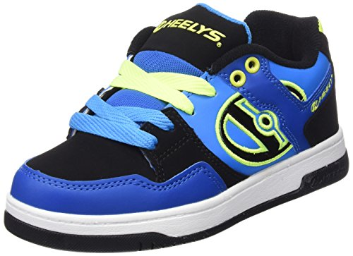 Heelys Flow 770608 - Sneakers Ragazzi, colore Multicolore (multi (Royal/Black/Lime)), taglia 38 EU ( 5 UK  )