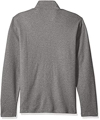 Calvin Klein Men's Mock Neck Quarter Zip Sweater