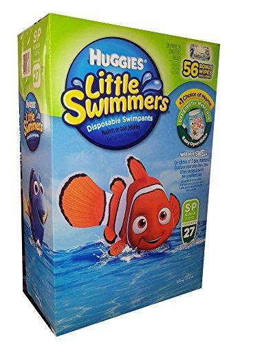 Huggies Little Swimmers Disposable Swimpants - S-P 16 - 26 lb.