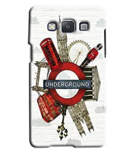 Clarks Printed Designer Back Cover For Samsung Galaxy E5