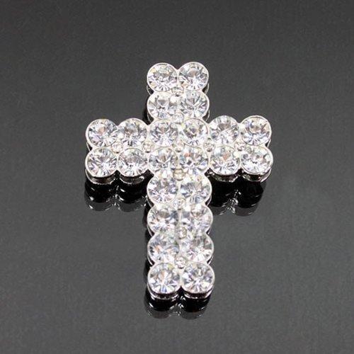 Crystal Cross Fashion Brooch Bh2600-bc101