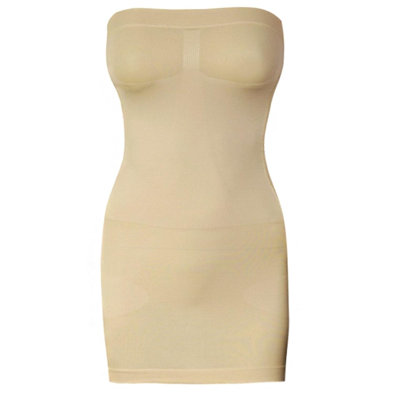Bauch Weg Figurformkleid Miederkleid Unterkleid Bodyformer Mieder Miederbody Microfaser Shapewear Figur günstig online kaufen